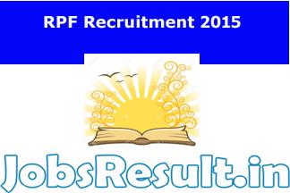 RPF Recruitment 2015