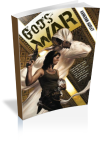 Book Cover: God's War by Kameron Hurley