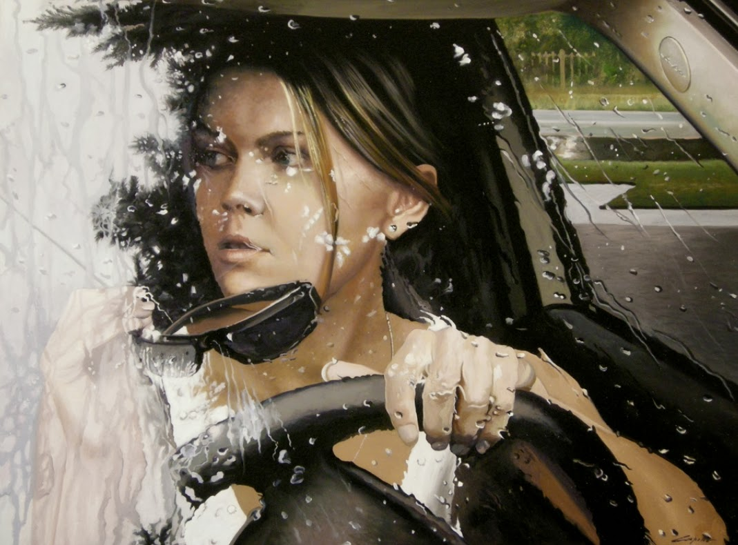 01-Francesco-Capello-Hyper-realistic-Drivers-Paintings-www-designstack-co