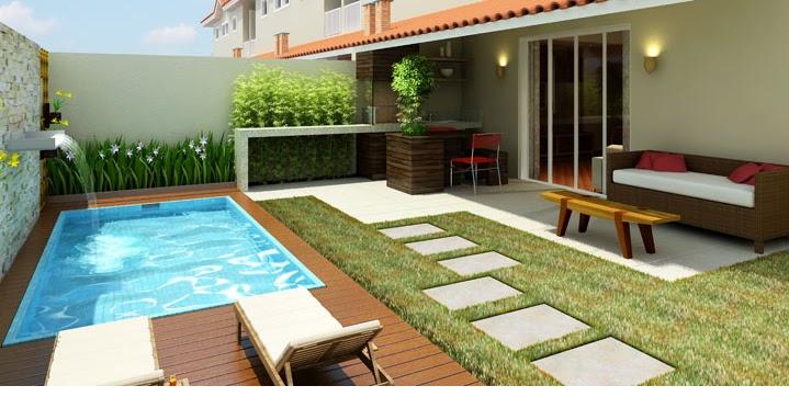 meu quintal meu jardim : meu quintal meu jardim:Modelos De Piscina Quintal