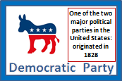 Democratic Party, Illustrated Definitions of Election Terms