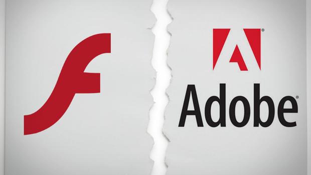 Adobe está dizendo às pessoas para pararem de usar flash
