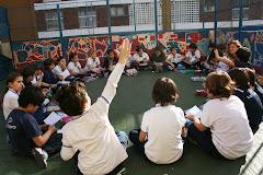 4º A - CLASE EN LA TERRAZA