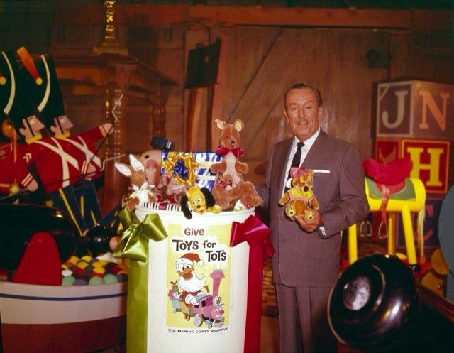 Marines Toys For Tots 2012 : The disneyland traveler walt disney and toys for