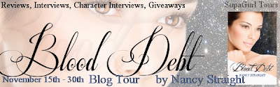 {Review+G!veaway} Blood Debt by Nancy Straight