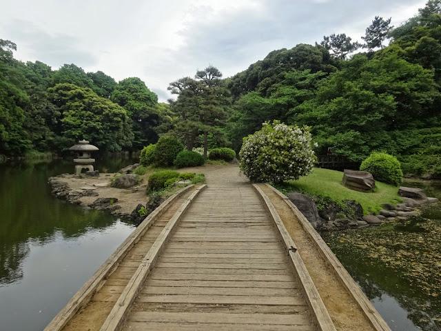 庭園,橋,新宿御苑〈著作権フリー無料画像〉Free Stock Photos