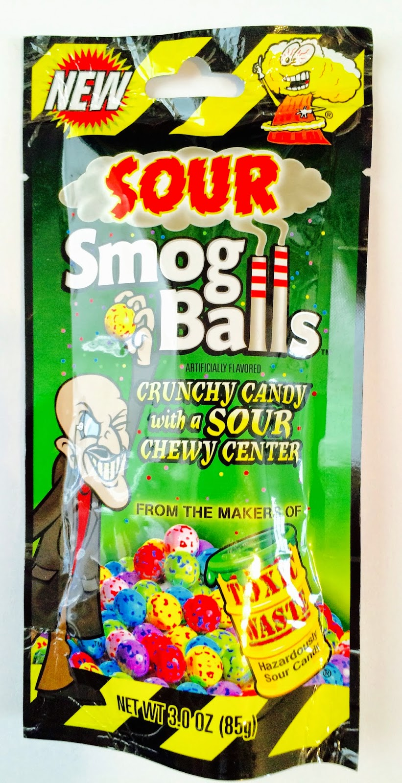 obsessive sweets x treme super sour grossout novelty candy sour enough to bring tears to your eyes these sour smog balls come in 8 painful flavors lime strawberry lemon cherry blue raspberry and grape