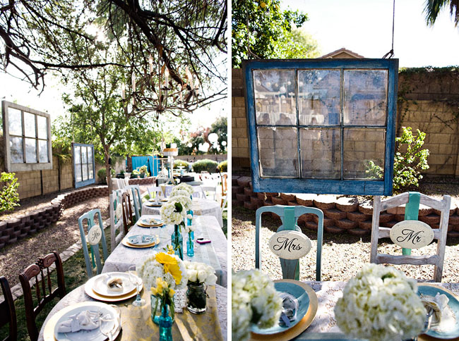 Vintage Backyard Decor :   Adventures in Wedding and Event Design Backyard Wedding Frenzy