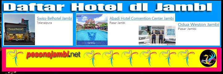 Alamat Hotel di Jambi