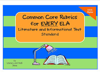 Common Core Rubrics For Each Grade Level