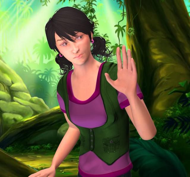 Animated Girl Animation