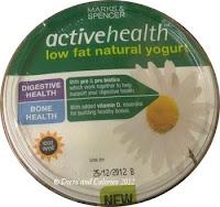 Marks & Spencer Active Health Natural Low fat yogurt