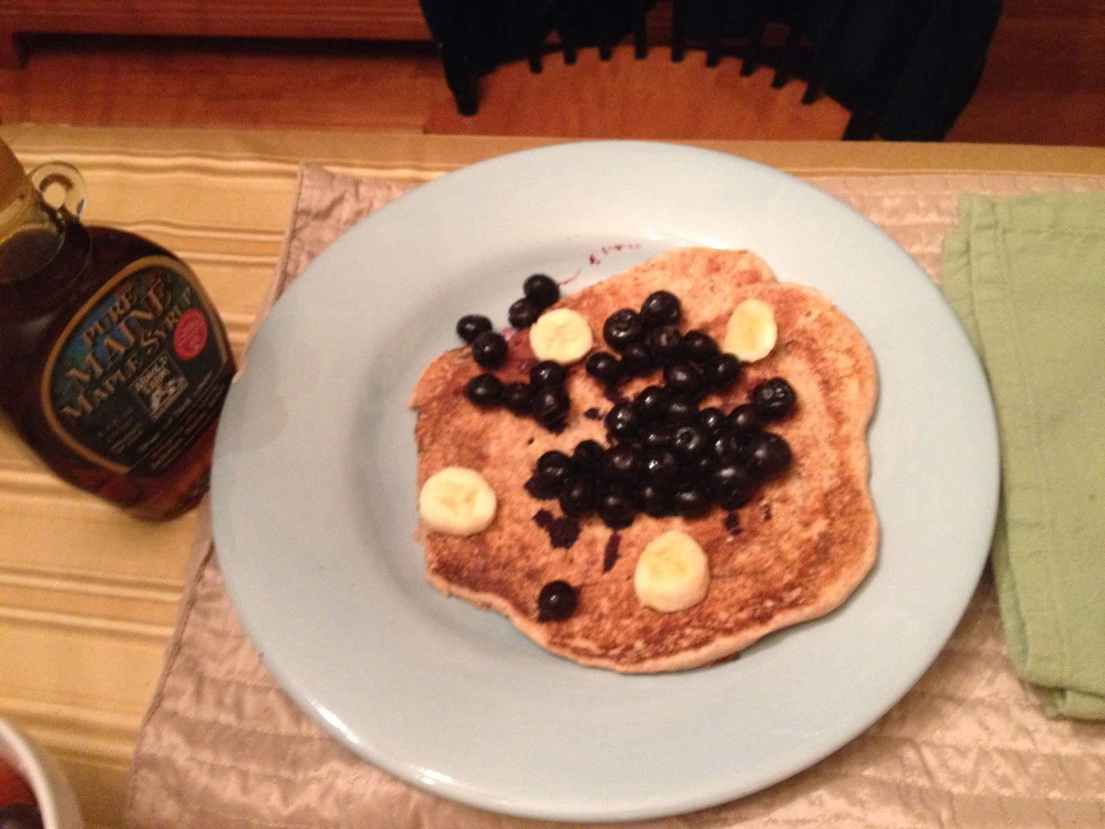 learning curve (and pancakes!)