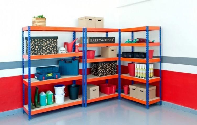 Estanterias para garaje staco estantera para colgadores - Estanterias para garaje ...