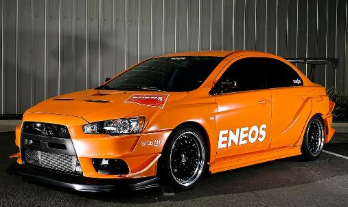 well i like this custom lancer evo x days in the fins near the headlights