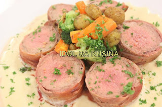 Idol Sa Kusina Recipes Bacon Wrapped Tenderloin With