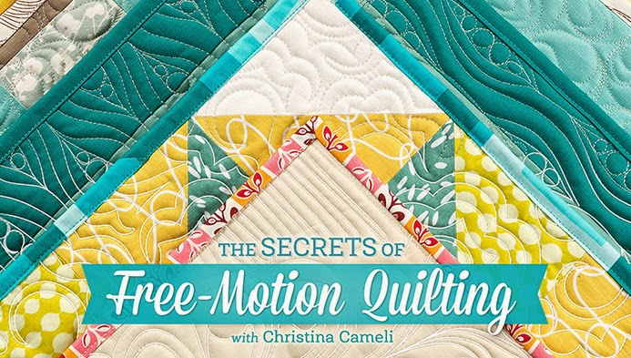 A Few Scraps Free Motion Quilting