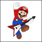 Mario Guitar Hero