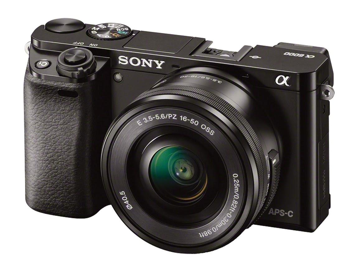 Sony - α6000 Mirrorless Interchangeable Lens Camera