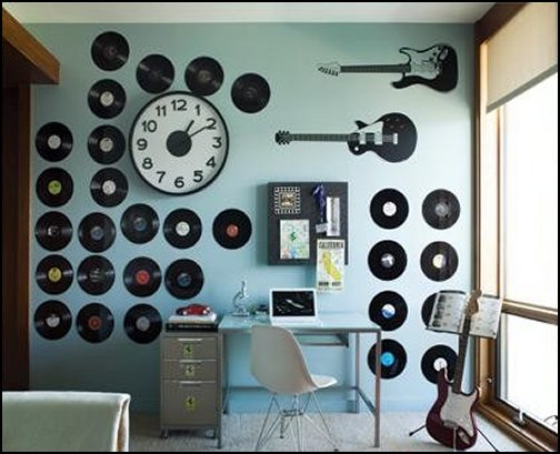 Music Theme Bedroom Decorating Ideas