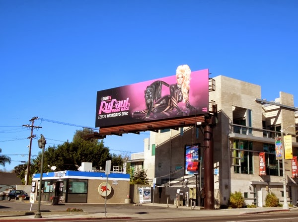 RuPaul's Drag Race season 6 billboard