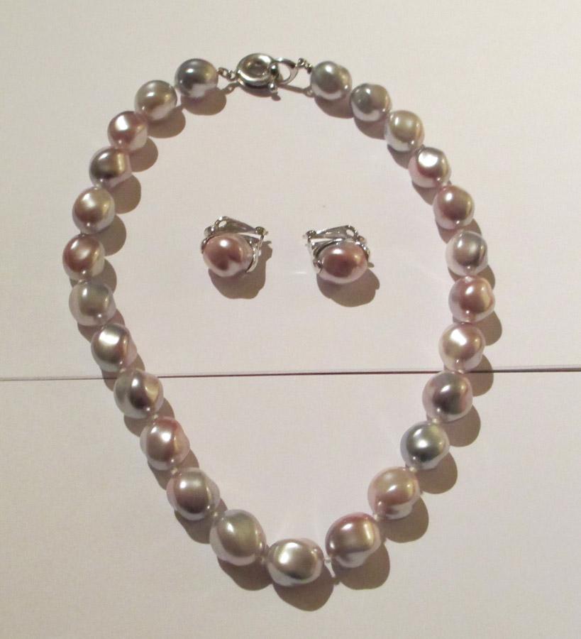 collana in perle di tiffany