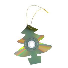 Enfeite de árvore de Natal Reciclagem
