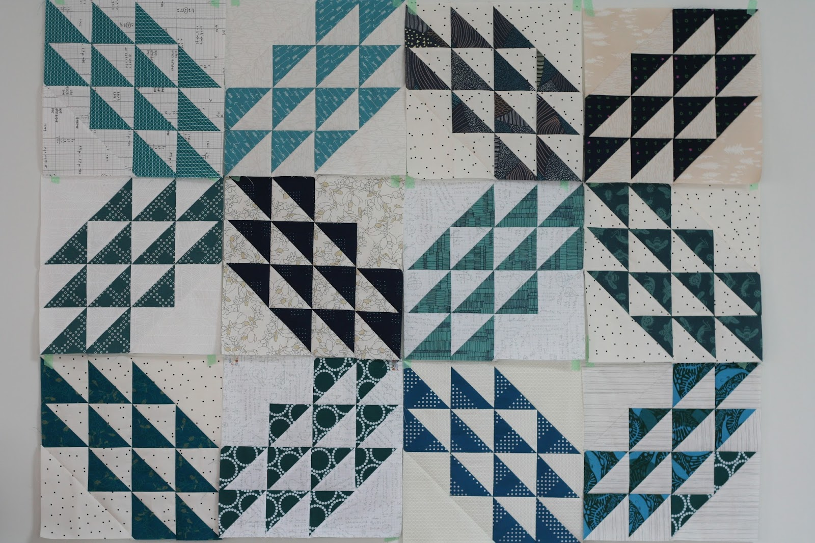 Wooden Spoon Quilts Quilt The Book Progress 1