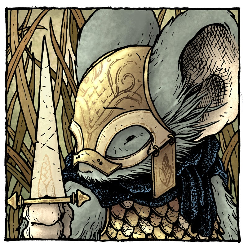 how to play mouse guard