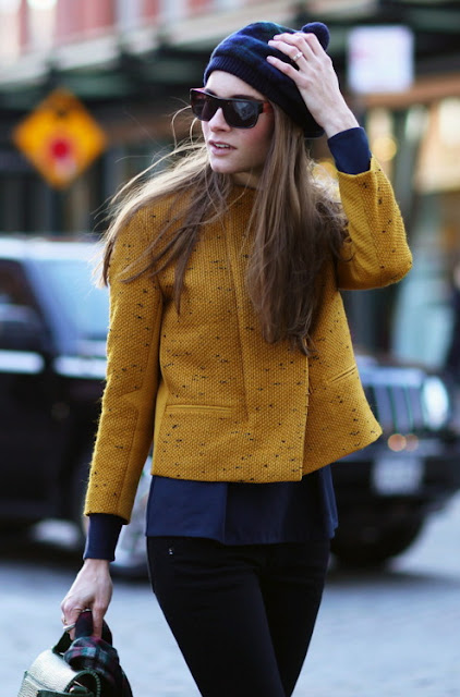 Street Style Beanie Outfit