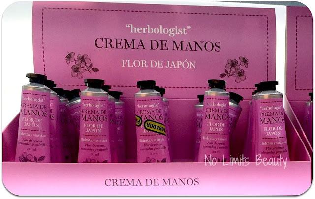 Crema de Manos Flor de Japón - Herbologist