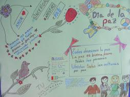 Día de la paz 30 enero 2013 trabajo de alumna de Rumanía.