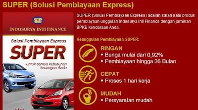 kredit multiguna super dari pt indosurya inti finance