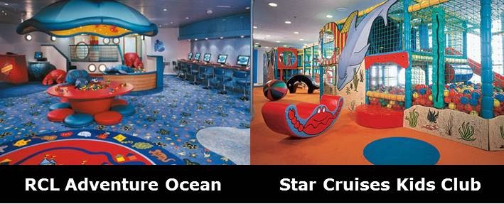 Second Drop Attractions Royal Caribbean Vs Star Cruises