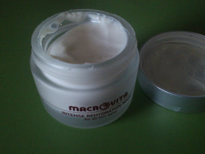 Macrovita intense rehydration mask with rice, cupuaçu και coenzyme Q10