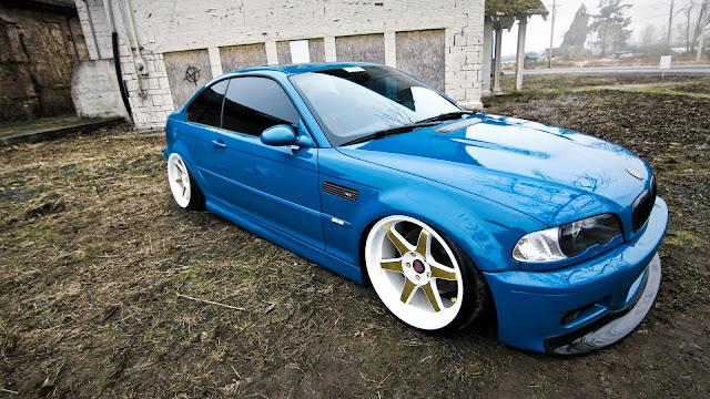 BMW E46 M3 Azul Tuneado