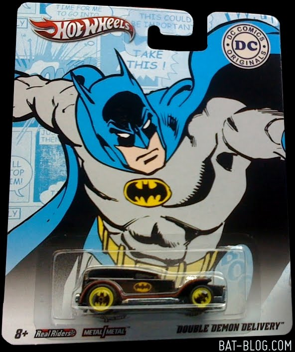 2011 dc comics hot wheels nostalgia series mtflk red w blue box ...