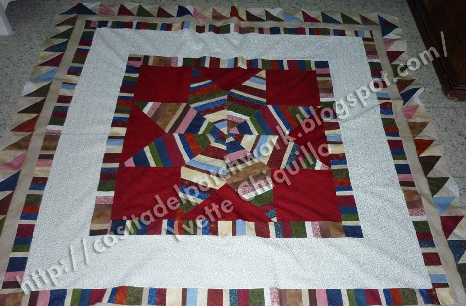 Casita del patchwork colcha de estrella - La casita del patchwork ...