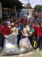 Reciclado de plástico PET en los colegios de Panamá.