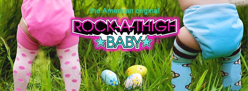 Rock-A-Thigh Baby Socks Review and #Giveaway