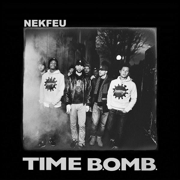 Nekfeu - TIME B.O.M.B. - Single Cover