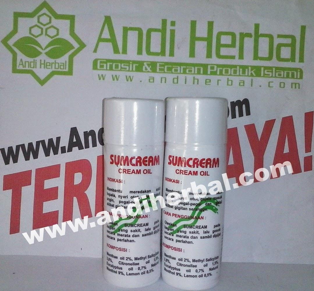 Sum Cream Sumbawa Cream Oil 100 gr Andiherbal.com