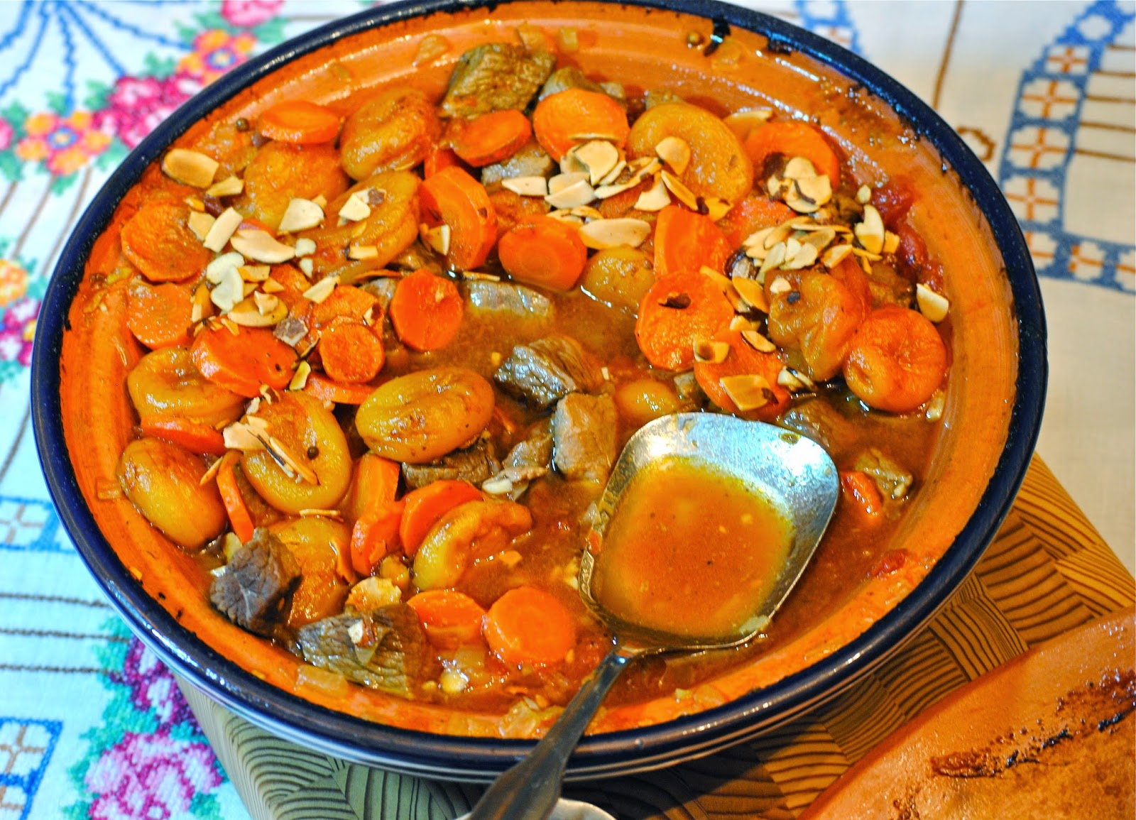 Bakeaway with Me: FFWD ~ Lamb Tagine with Apricots and Almonds ...