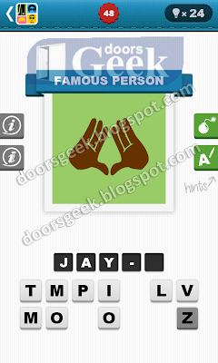 Guess the celebrity answers level 48
