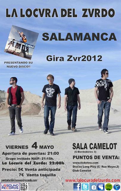 Entradas La Locura del Zurdo en Salamanca