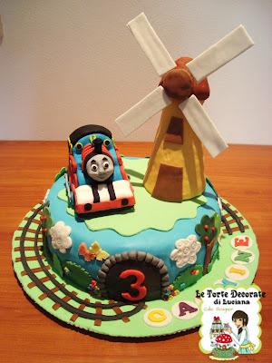 le torte decorate torta trenino thomasForDecorazioni Torte Trenino Thomas