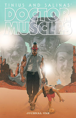 Cover of Doctor Muscles Journal One from Bogus Publishing