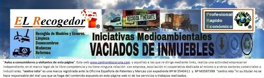 RECOGIDA DE MUEBLES Y VACIADOS CORUÑA