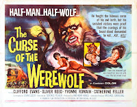 The Curse Of The Werewolf poster