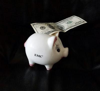 Sparschwein, Geld, Dollar